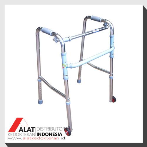 tongkat walker beroda