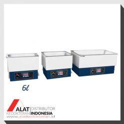 jual digital water bath 6 liter. sudah menggunakan microprocessor dengan fitur control suhu temperature, timer, alarm. impor dari korea harga murah