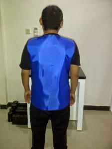 Jual Baju Apron X Ray Tanpa Lengan double 0,5mm (belakang)