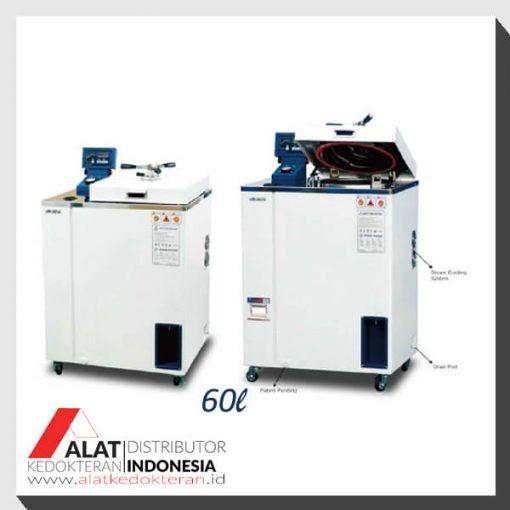 mesin sterilisasi autoclave steam sterilizer, sterilisator basah