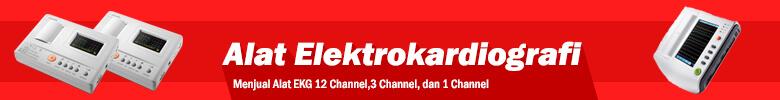 ekg ecg recording 1 channel, 3 channel, 12 channel. harga murah