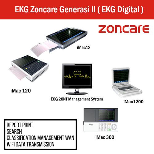 EKG Zoncare Generasi II