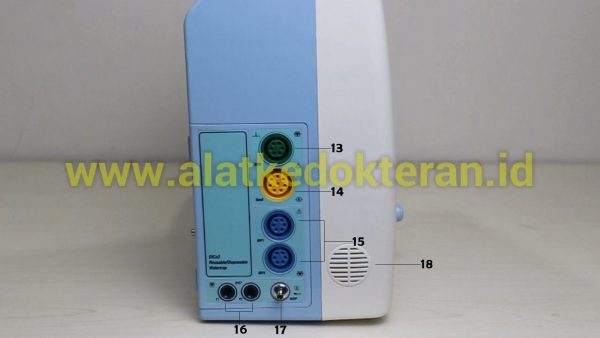 Pasien Monitor merupakan alat  yang digunakan untuk memantau atau mengukur berbagai tanda - tanda vital pasien seperti suhu tubuh, tekanan darah, frekuensi nadi, dan frekuensi pernafasan secara kontinu ( terus - menerus ).