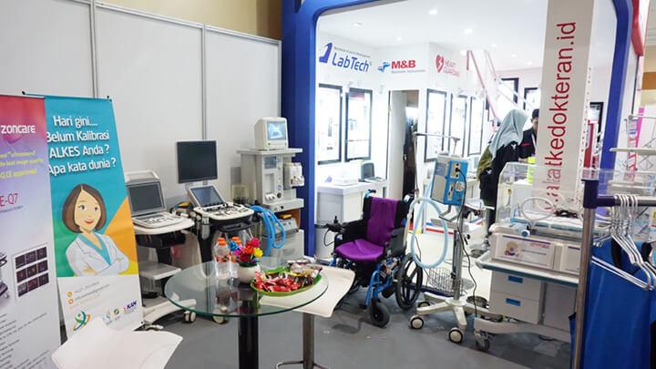 Booth PT. Permana Putra Mandiri dalam event Hospital Expo 2019