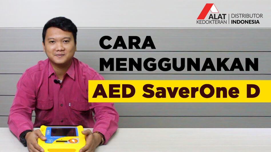 AED ( Automated External Defibrillator ) Merupakan alat stimulasi detak jantung portable yang berfungsi untuk mengembalikan irama detak jantung kembali normal melalui sengatan listrik bertegangan tinggi.