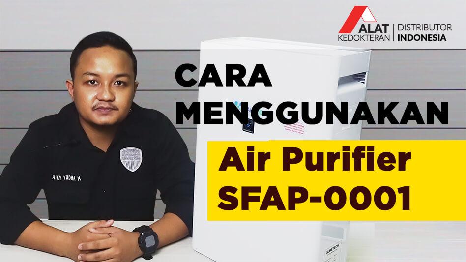 Air Purifier adalah alat yang digunakan untuk memurnikan udara di ruangan, dengan menyaring udara di sekitar agar lebih bersih dan bebas dari polusi atau partikel partikel alergen yang dapat menyebabkan asma.