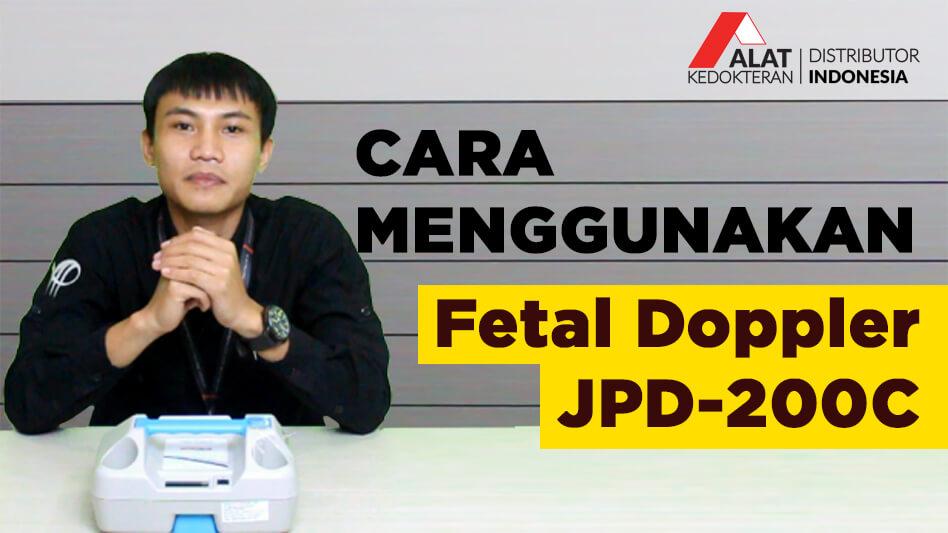 Fungsi Doppler adalah untuk mendeteksi detak jantung pada janin, yang biasanya digunakan pada usia kehamilan 16 minggu ke atas.