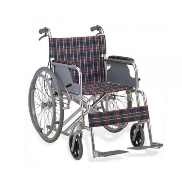 Kursi roda alumunium tahan lama dan murah Kaiyang KY864LJ.
