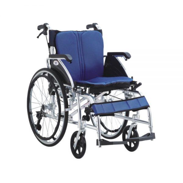 Kursi roda alumunium tahan lama dan murah Kaiyang KY869LAJ.